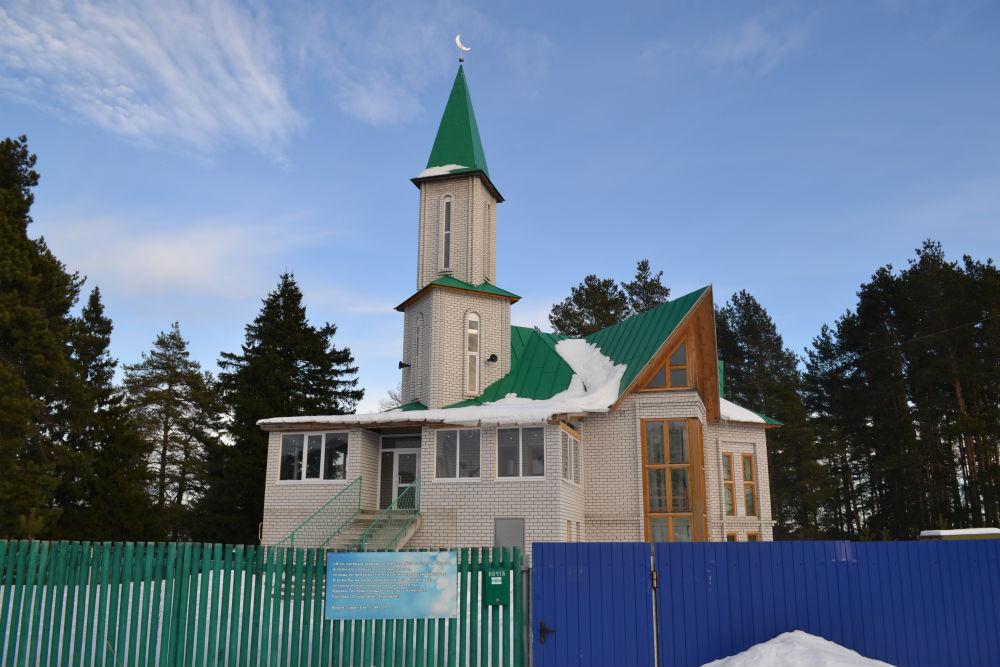 Мечеть в Красногорском Марий Эл