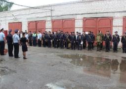 «День дисциплины» провели для сотрудников ОМВД России по Звениговскому району