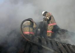 В Звениговских садах «Дружба» сегодня горела баня
