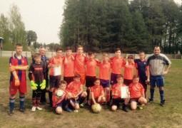 На стадионе «Водник» в г. Звенигово состоялся турнир юных футболистов клуба «Кожаный мяч»