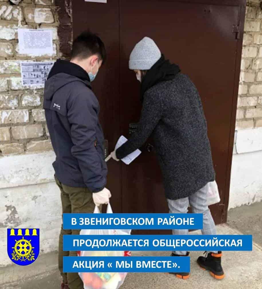 волонтёры Звениговского района