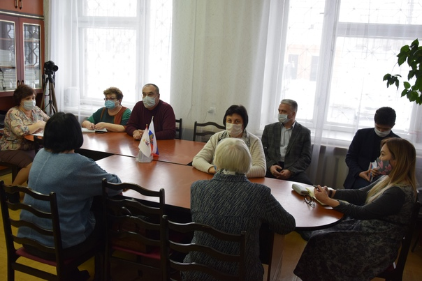 встреча представителей общественных организаций района с руководством Звениговской ЦРБ